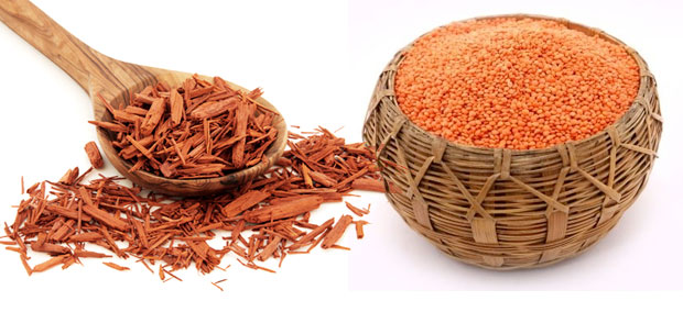 Masoor Dal sandal wood