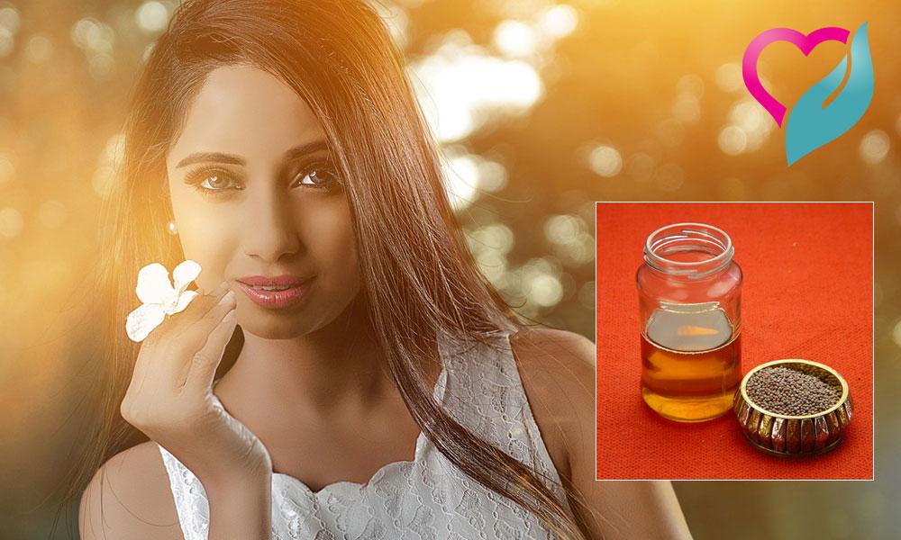 Mustard hair oil
