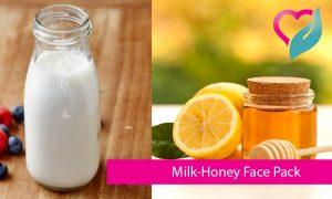 Milk-Honey Face Pack