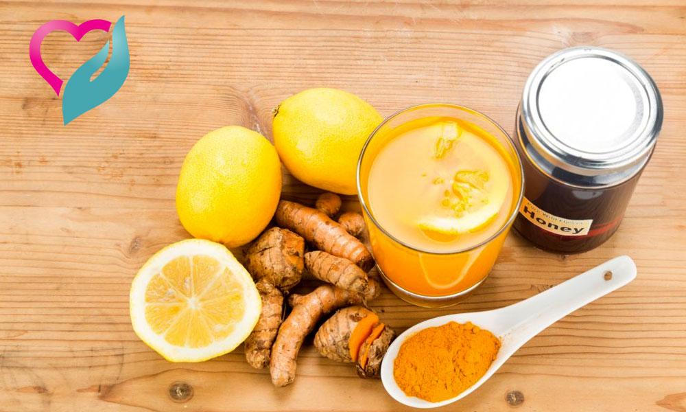 Turmeric Lemon Honey
